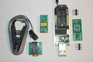 CH341A 24 25 Series EEPROM Flash BIOS USB Programmer+SOIC8 SOP8 Chip IC Adapter