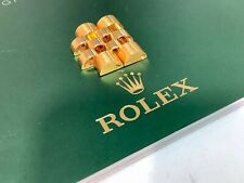Genuine ROLEX DATEJUST 18K Solid Yellow Gold 16mm Jubilee Links! Excellent Items