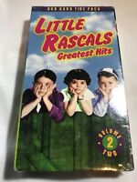 LITTLE RASCALS Greatest Hits Volume 2 VHS Tape Sealed