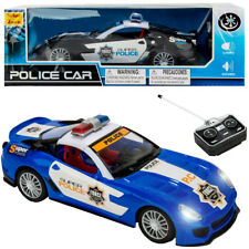Durable RC Remote Control High Speed Police Car W/ Lights Sounds Kids Toy Gift
