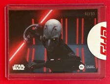 2019 Star Wars Authentics Jason Isaacs as The Grand Inquisitor 62/99 Card #27