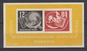 DDR Block 7 postfrisch/** - € 150