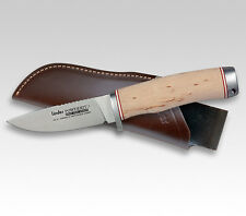"LINDER GERMAN M390 KARELIA HUNTER KNIFE / BIRCH WOOD / 3.82"" BLADE * NEW *"