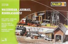 Faller 222138 N - Wasserkran, Lademass, Rohrblasgerüst NEU & OvP