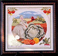 Just CrossStitch SUMMER GARDEN Cross Stitch Chart/Leaflet ~ A Change of Seasons