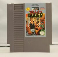 Bad Dudes - Nintendo NES Game Authentic