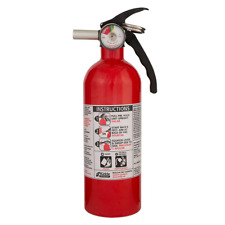 5-B:C Rated Disposable Fire Extinguisher 6 ft,liquid,gas,and electrical fires.