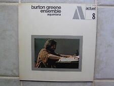 Burton Greene Ensemble-Aquariana w'Didier Malherbe 1969 France BYG Actuel 8 M/M