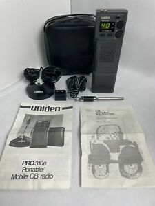 Uniden Pro310e 40 Channel Mobile & Portable CB Radio with Magnetic Antenna