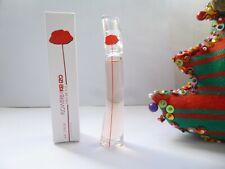SUPERBE & RARE miniature  FLOWER  EAU de VIE  de  KENZÖ  pleine + boite NEUVE