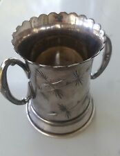 Antique Silverplate Trophy Cup or Mug MF'D & Plated by REED & BARTON 512