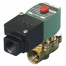 ASCO REDHAT JSF8210G002 Solenoid Valve,Brass,NC,Air, Inert Gas
