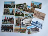 15 Vintage Postcards Canada 1930's