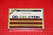 TDK  OD  90  BLANK CASSETTE  TAPE (1) (SEALED)