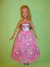 Barbie e l'isola perduta bambola dal film viso lea Kira head mold bocca chiusa
