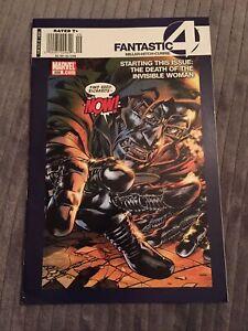 Fantastic Four #558 1st Old Man Logan RARE Canadian Price Variant [Marvel, 2008]
