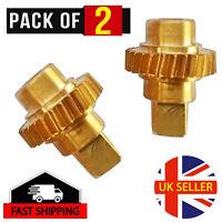 Vauxhall/Opel Astra Twin Top Roof Motor Winglet Cogs/Gears 93188313/14 Brass x 2