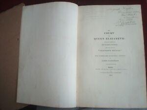 COURT of QUEEN ELIZABETH SIR ROBERT NAUNTON ADDITIONS by JAMES CAULFIELD 1814
