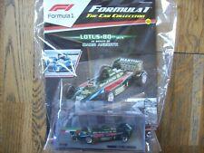 Formula 1 The Car Collection Part 93 Lotus 80 1979 Mario Andretti