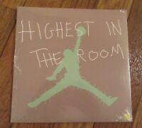 "Travis Scott Highest In The Room 7"" Vinyl Record Single Cactus Jack Air Jordan"