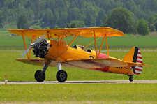1/4 Scale STEARMAN PT-17  RC AIRPLANE PRINTED PLANS