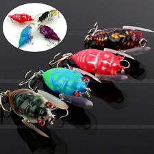 Fishing Tackle Lure Snakehead Bass Killer Insect Cicada Freshwater Hard Bait