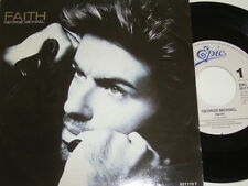 """7"""" - George Michael Faith & Hand to Mouth - 1987 # 5654"""