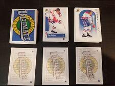 1991 ULTIMATE HOCKEY COMPLETE 90 CARD SET SEALED PREMIER EDITION