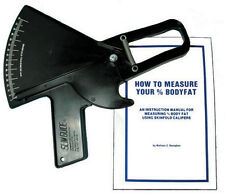 Slim Guide Skinfold Caliper (black) with Speed Rule C-120BSR