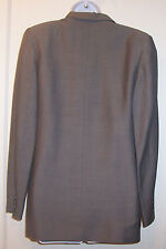 Banana Republic Blazer Size 6 Gray Mohair Wool Blend Womens