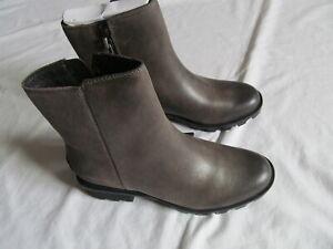 Sorel Phoenix Zip Waterproof  woman major brown boots sz 7 Brand New