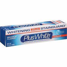 Plus + White Toothpaste Xtra Whitening Mint Gel 3.5 oz.  + Makeup Sponge