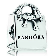 Pandora Shopping Bag Charm, Bracelet Bead, Original, Brand New, #791184