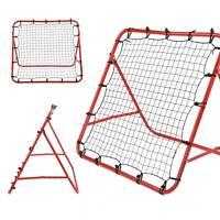Kids Rebounder Net Ball Kickback Soccer Goal Football Net Training Game Target