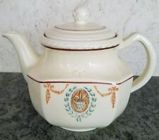 Vintage Porcelier Vitreous China Teapot Collectible Teapot