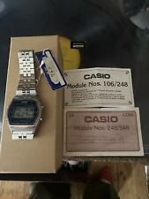 casio vintage watch Marlin W-750 Rare New Tag