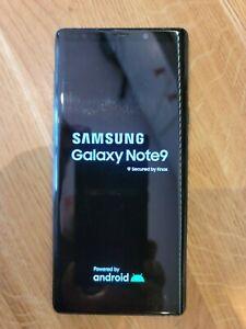 Samsung Note 9 - Black - 512GB - Dual sim - SM-960F DS 512GB - Factory Unlocked