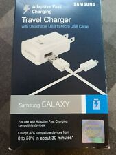 Samsung OEM Fast Adaptive Wall Charger USB to Micro USB Cable