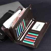 les dons bifold portefeuille sac à main en cuir pièce sac titulaire de la carte