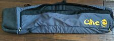 Clive Premium Padded Snowboard Bag with external Skateboard Carrier Heavy Duty