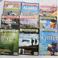 Backpacker Magazine Camping Hiking Trails Outdoors 1997 Buyers Guild lot of 9