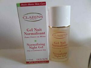 Clarins NORMALIZING NIGHT GEL- Oily or Combin.Skin-30 ml/1.06 oz NEW IN BOX