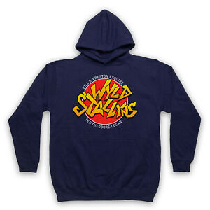 BILL & TED UNOFFICIAL WYLD STALLYNS ROCK BAND LOGO FILM ADULTS UNISEX HOODIE