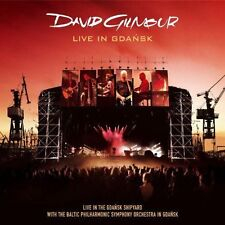 DAVID GILMOUR - LIVE IN GDANSK Audio CD NEW & SEALED 2 Discs Warner Music Russia