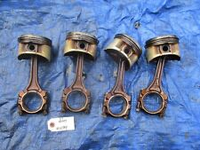 97-01 Honda Prelude H22A4 VTEC pistons and rods H22 P5M set OEM 46821 H22A 2