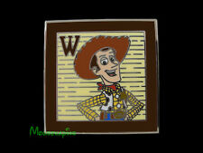 TOY STORY COWBOY WOODY on Toy Block Disney 2014 PIN
