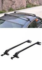 1set For HONDA ACCORD 2005-2010 Black Aluminum Cross Bar Roof Cargo Luggage Rack