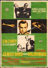 Goldfinger Original Spanish Movie Herald 1964  007 James Bond Sean Connery