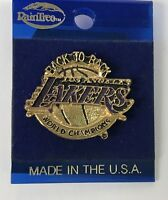 Los Angeles Lakers Vintage Rare 1988 Back To Back Pin HTF