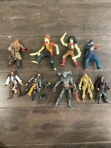 Pirates of the Caribbean action figures Lot